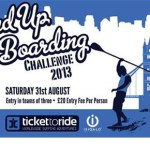 Thames Stand Up Paddle Board Challenge 2013