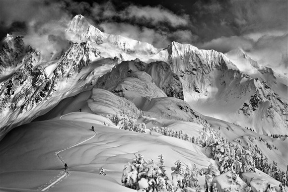 Banff Mountain Film Festival landscape of mountains and snow