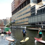 Stand Up Paddleboarding in Paddington