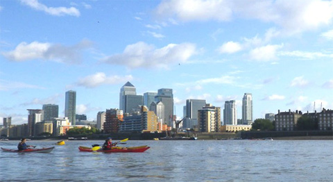 Paddlefest at Shadwell Basin September 2014