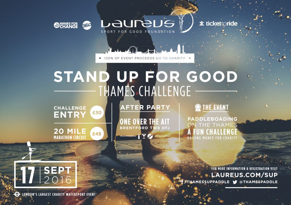 'Stand Up for Good' Thames Challenge