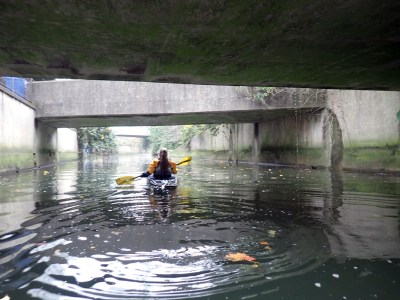 Kayaking Deptford Creek and the River Ravensbourne