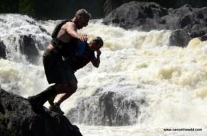 Allagash Falls Swimming