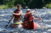 Allagash whitewater Canoeing