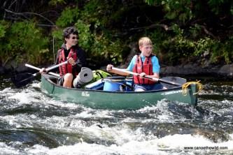 Canoeing Little Falls
