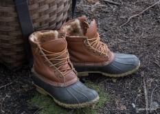 Maine-Canoe-Trips-Gear-LLBean-Boots