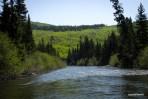 Bonaventure-River-Canoe-Trip-scenic-views-hills