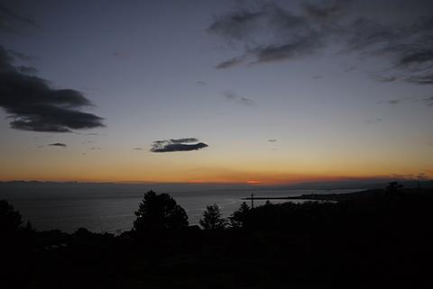 ビクトリア 夕日