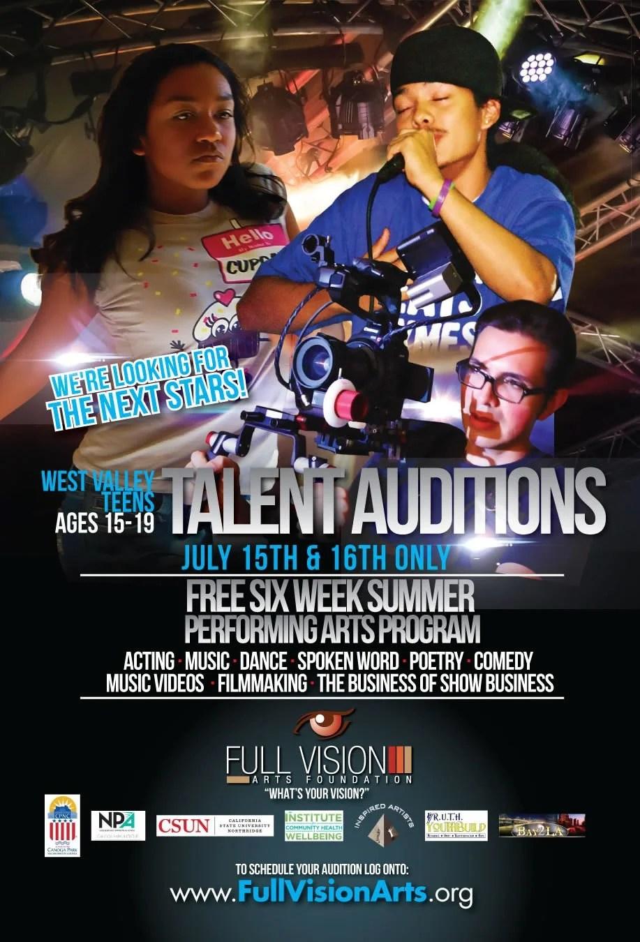 Free Six Week Summer Performing Arts Program in Canoga Park!