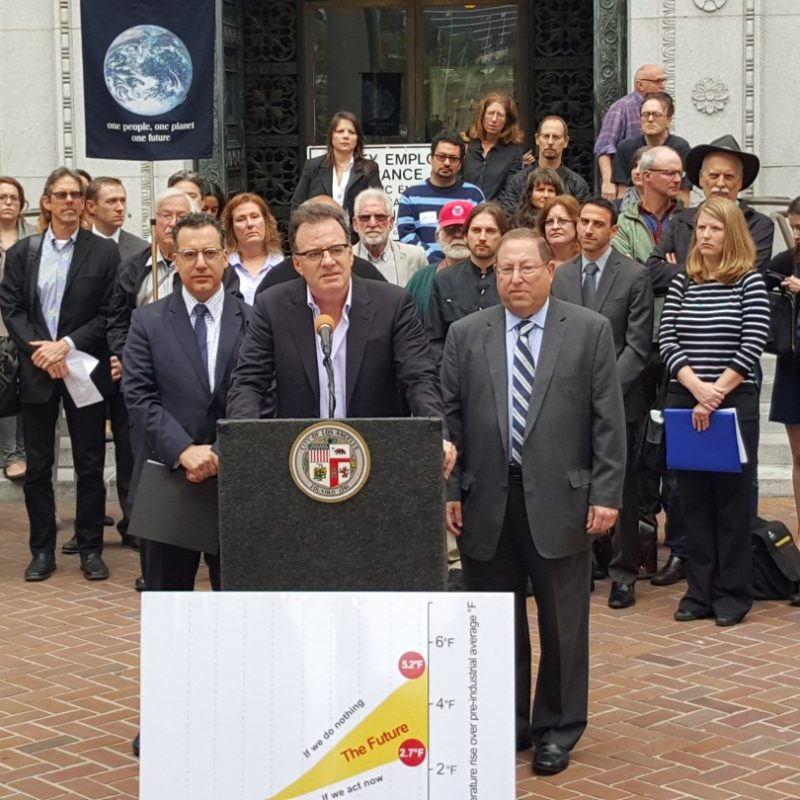 City Council Approves 80% by 2050 Climate Target