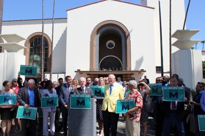 City Council Supports Measure M to Improve Transit