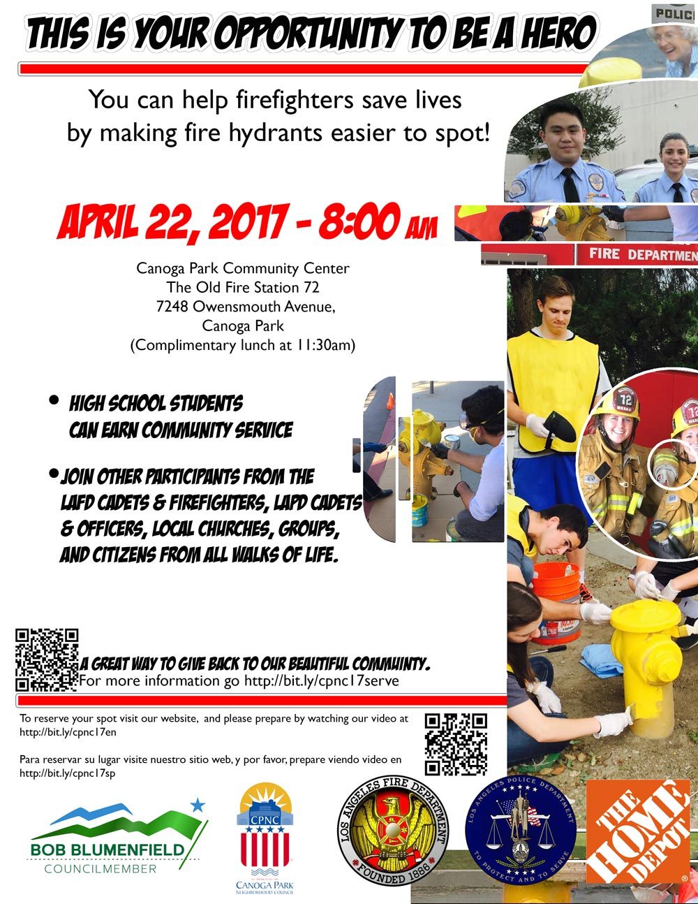 Community Project: Painting the Fire Hydrants in Canoga Park