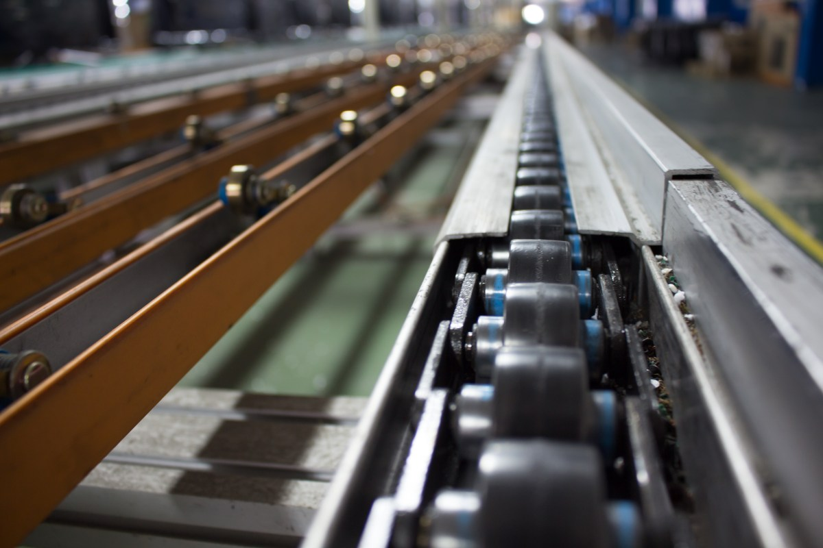 conveyor line assembly
