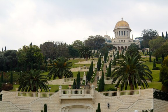 The Bahai Gardens in Haifa
