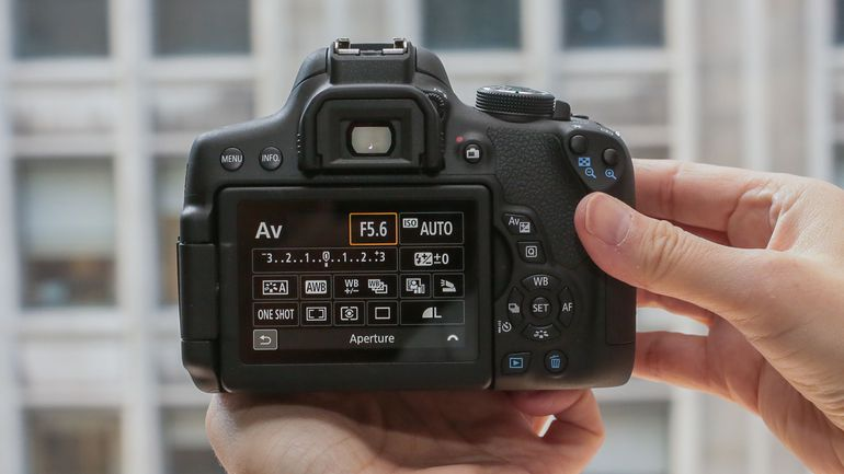 Canon T6i features