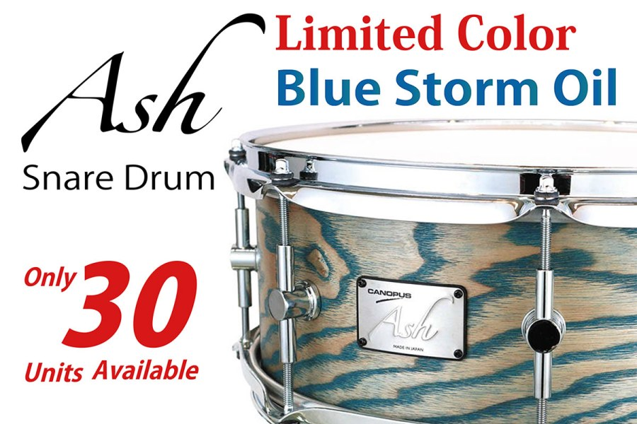 Canopus Ash Snare Drum Limited Color