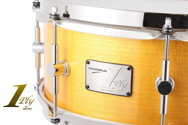 1ply Soft Maple Snare Drum