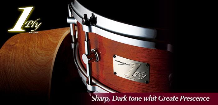 1ply Bubinga Snare Drum