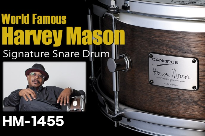 Harvey Mason Signature Snare Drum Available to Ship!