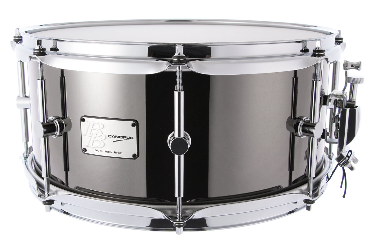 Black Nickel Brass Snare Drum BB-1465BB-1465