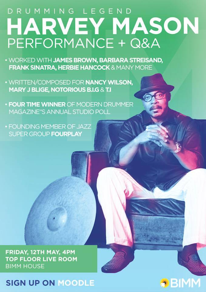 A series of Masterclasses by Harvey Mason in UK