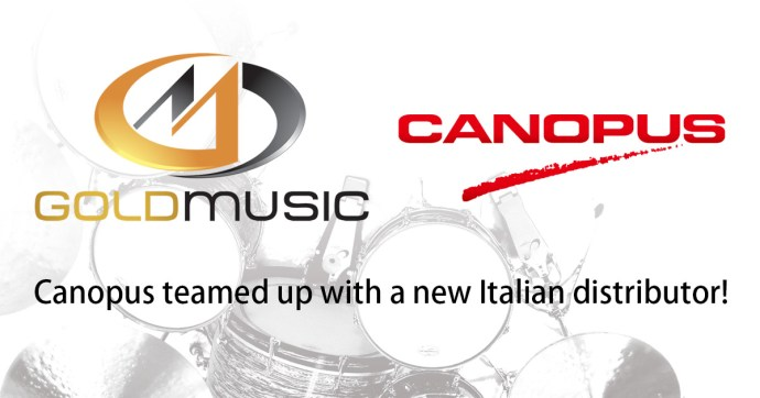Canopus teamed up with a new Italian distributor!
