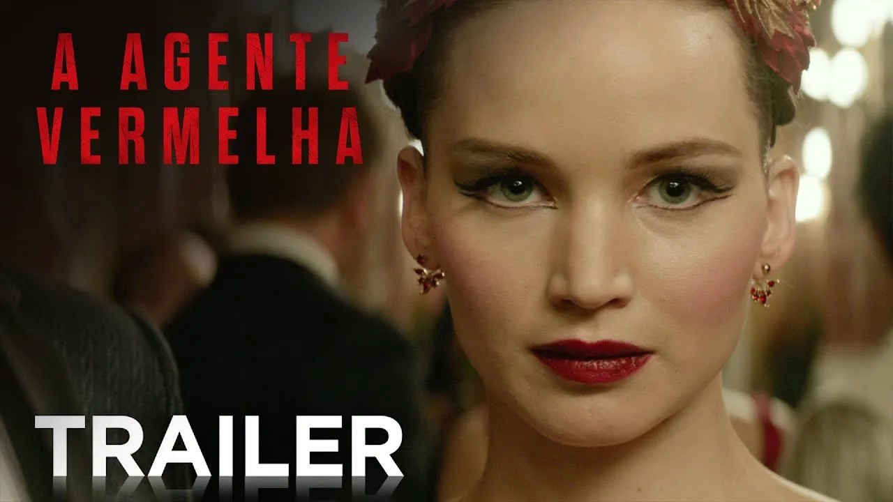 'A Agente Vermelha' (Red Sparrow) com Jennifer Lawrence – Trailer e Sinopse