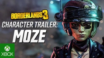 "Borderlands 3 - Moze Character Trailer: ""The BFFs"", Borderlands 3 – Moze Character Trailer: ""The BFFs"", CA Notícias, CA Notícias"