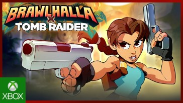 Brawlhalla Tomb Raider Crossover Reveal Trailer