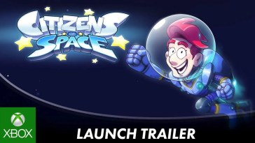 Citizens of Space | Trailer de lançamento
