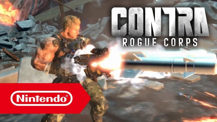 CONTRA ROGUE CORPS – Trailer E3 2019 (Nintendo Switch)