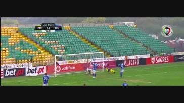 FC P.Ferreira, Golo, Luiz Phellype, 13m, 1-0