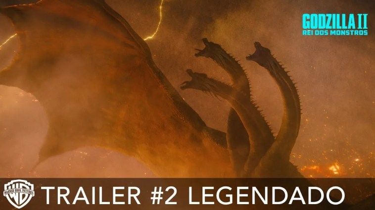 Godzilla II: Rei dos Monstros – Trailer #2 legendado