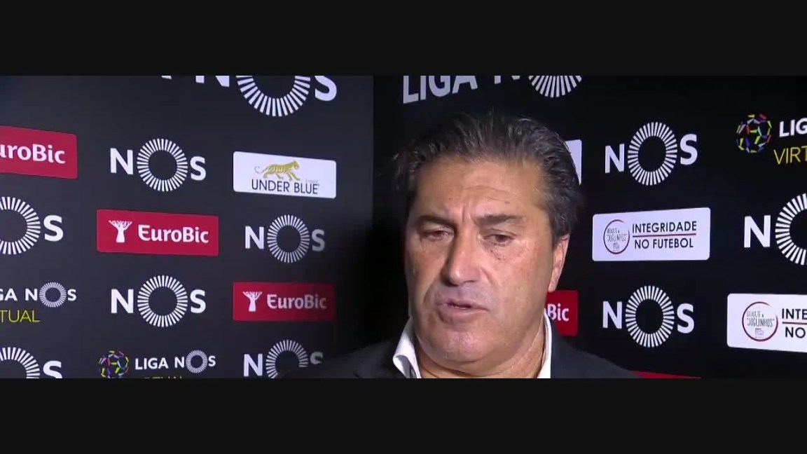 , Liga (4ª): Flash interview José Peseiro