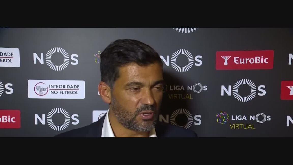 , Liga (4ª): Flash interview Sérgio Conceição