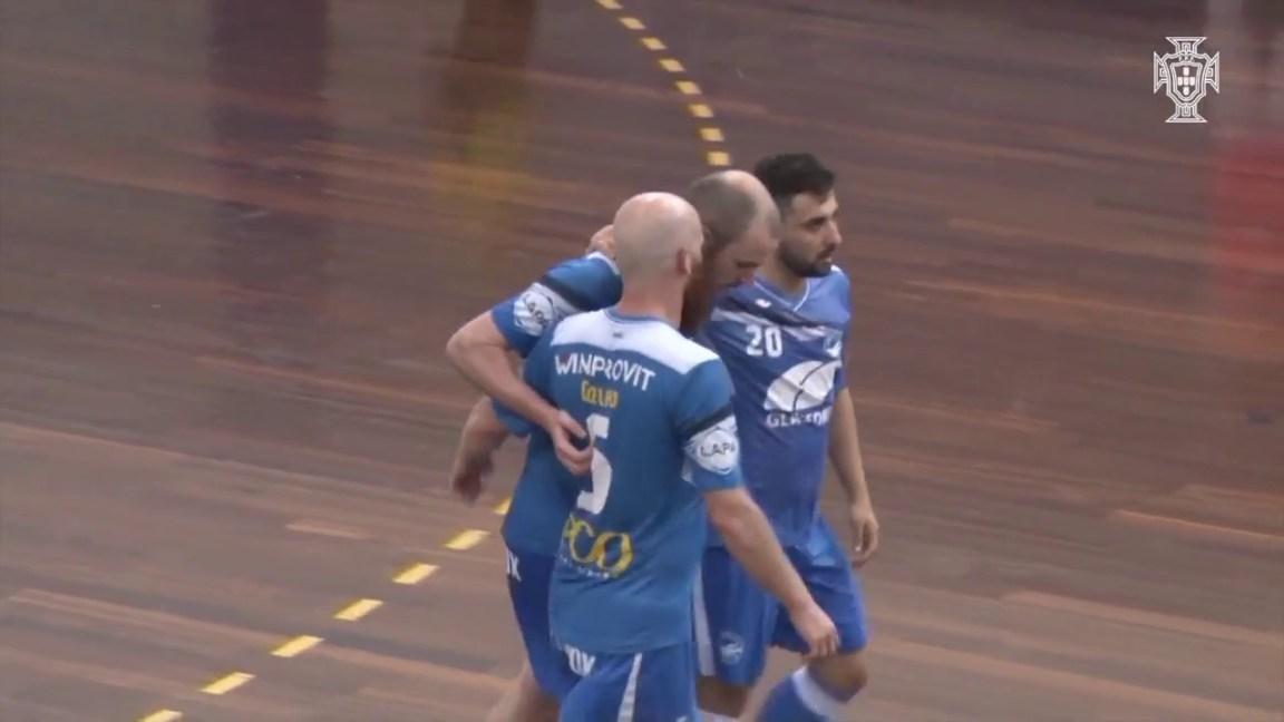 Liga Sport Zone, 3.º jogo quartos-de-final: Modicus Glassdrive 4-2 AD Fundão