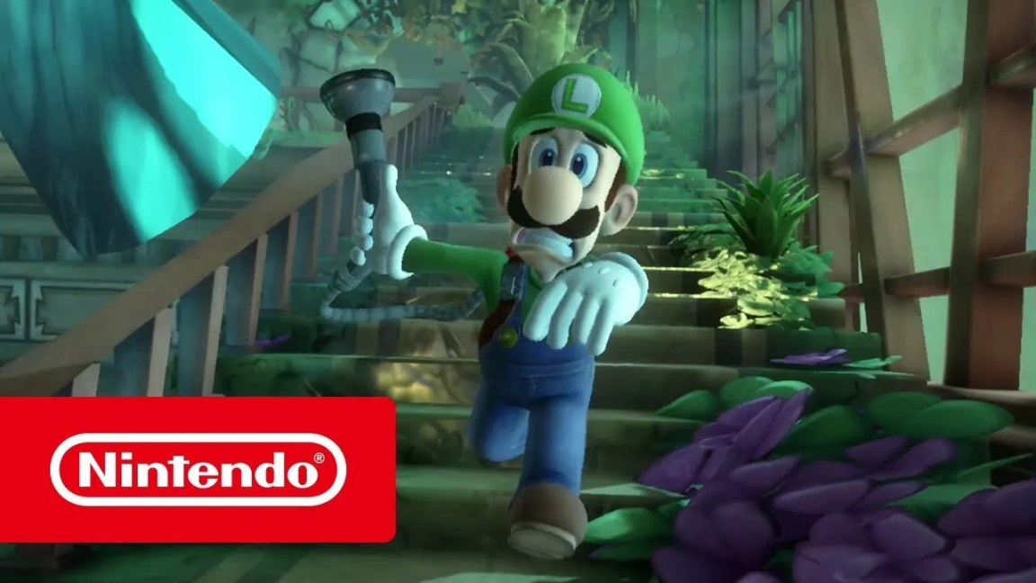 Luigi's Mansion 3 – Trailer de apresentação (Nintendo Switch), Luigi's Mansion 3 – Trailer de apresentação (Nintendo Switch)
