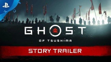 Ghost of Tsushima,ghost of tsushima trailer, Ghost of Tsushima | Trailer de História | PS4
