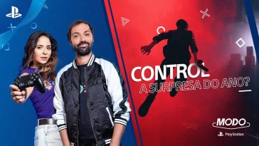 MODO PLAYSTATION #3 | CONTROL, A SURPRESA DO ANO? (COM GAMEPLAY), MODO PLAYSTATION #3 | CONTROL, A SURPRESA DO ANO? (COM GAMEPLAY)