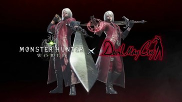 Monster Hunter: World recebe conteúdo de Devil May Cry
