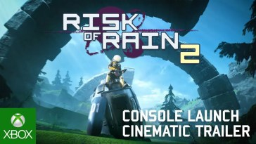 Risk of Rain 2 Console Launch Cinematic Trailer