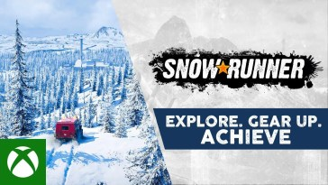 SnowRunner - Explore. Gear Up. Achieve.