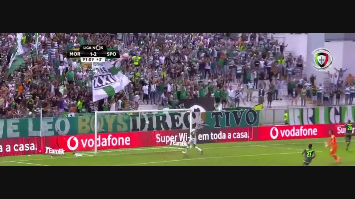 Sporting CP, Golo, Bas Dost, 92m, 1-3