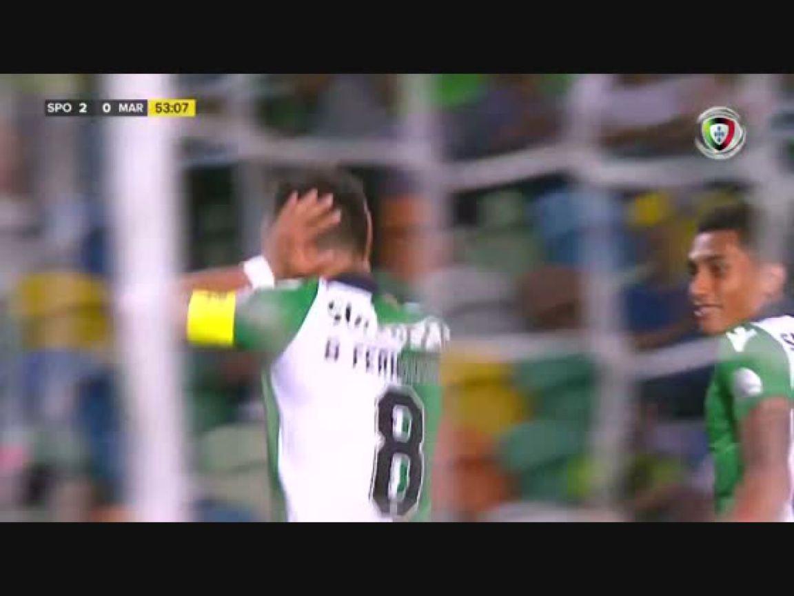 , Sporting CP, Golo, Bruno Fernandes (g.p.), 54m, 2-0