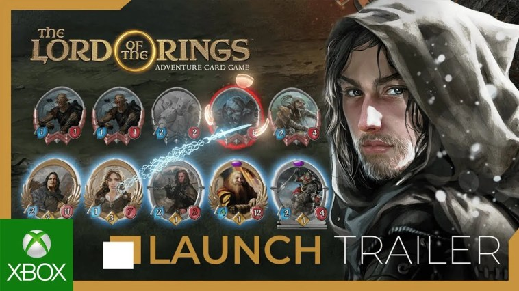 The Lord of the Rings: Adventure Card Game Trailer de lançamento