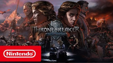 Thronebreaker: The Witcher Tales – Trailer de lançamento (Nintendo Switch)