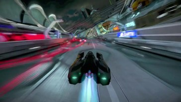 Trailer revela nave Tigron K-SVR de WipEout Omega Collection
