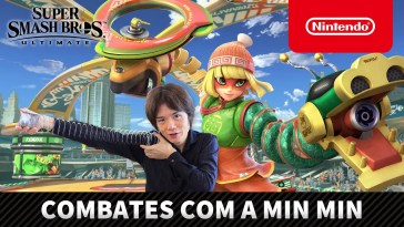 Super Smash Bros. Ultimate – Combates com a Min Min (Nintendo Switch)