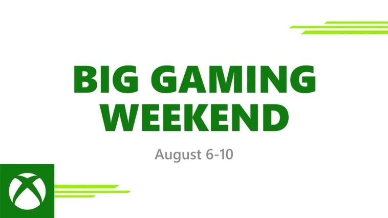Big Gaming Weekend - Everyone Plays Free August 6-10, 2020