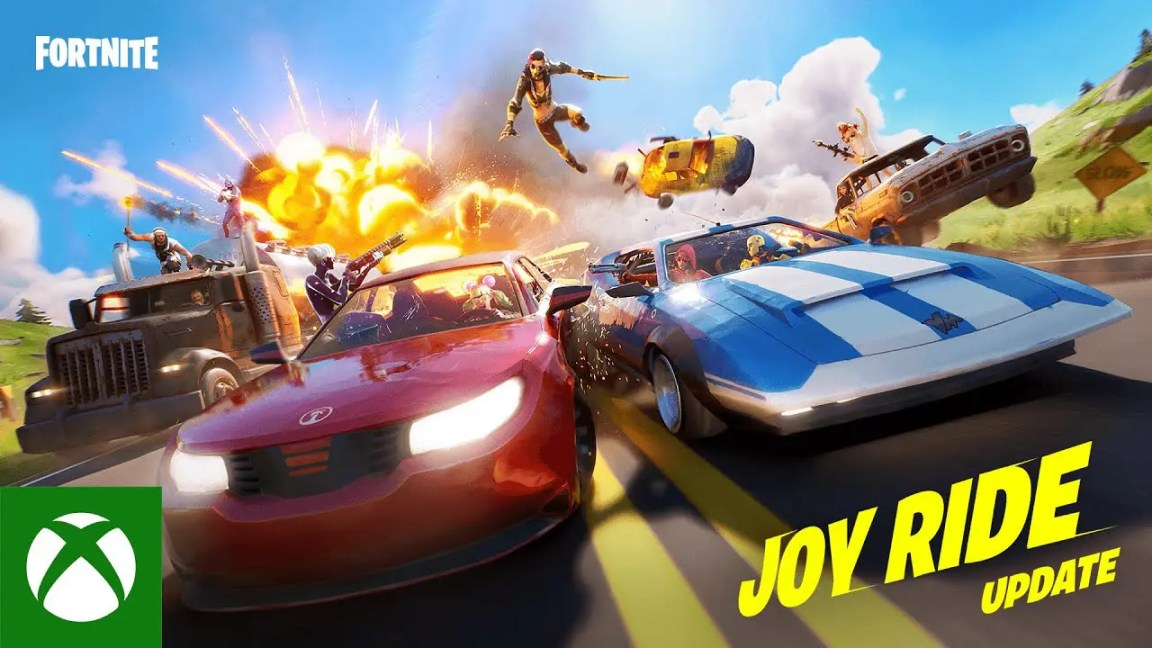 Get Behind the Wheel In The Joy Ride Update | Fortnite